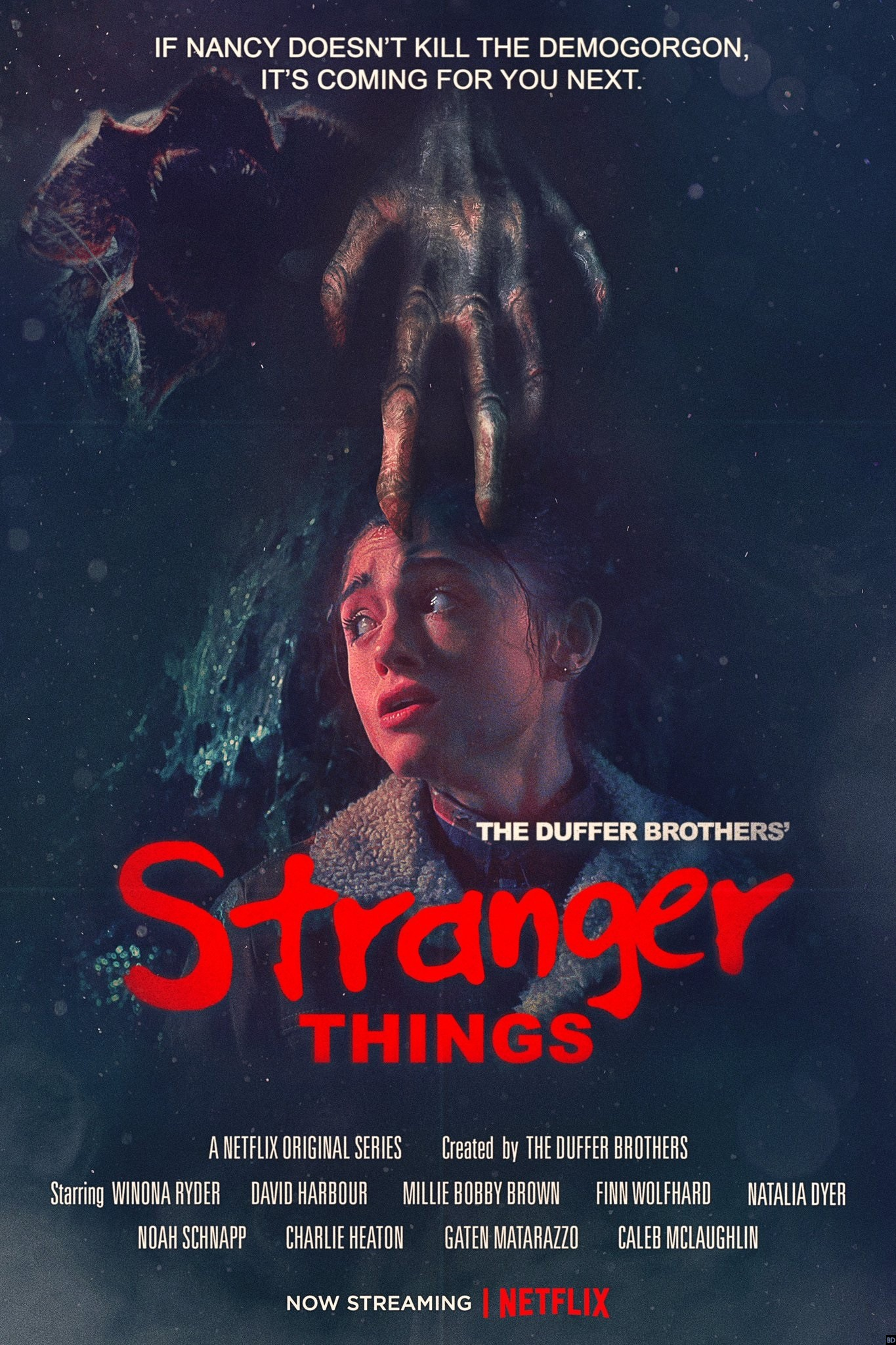 amazing new quotstranger thingsquot poster plays up elm street