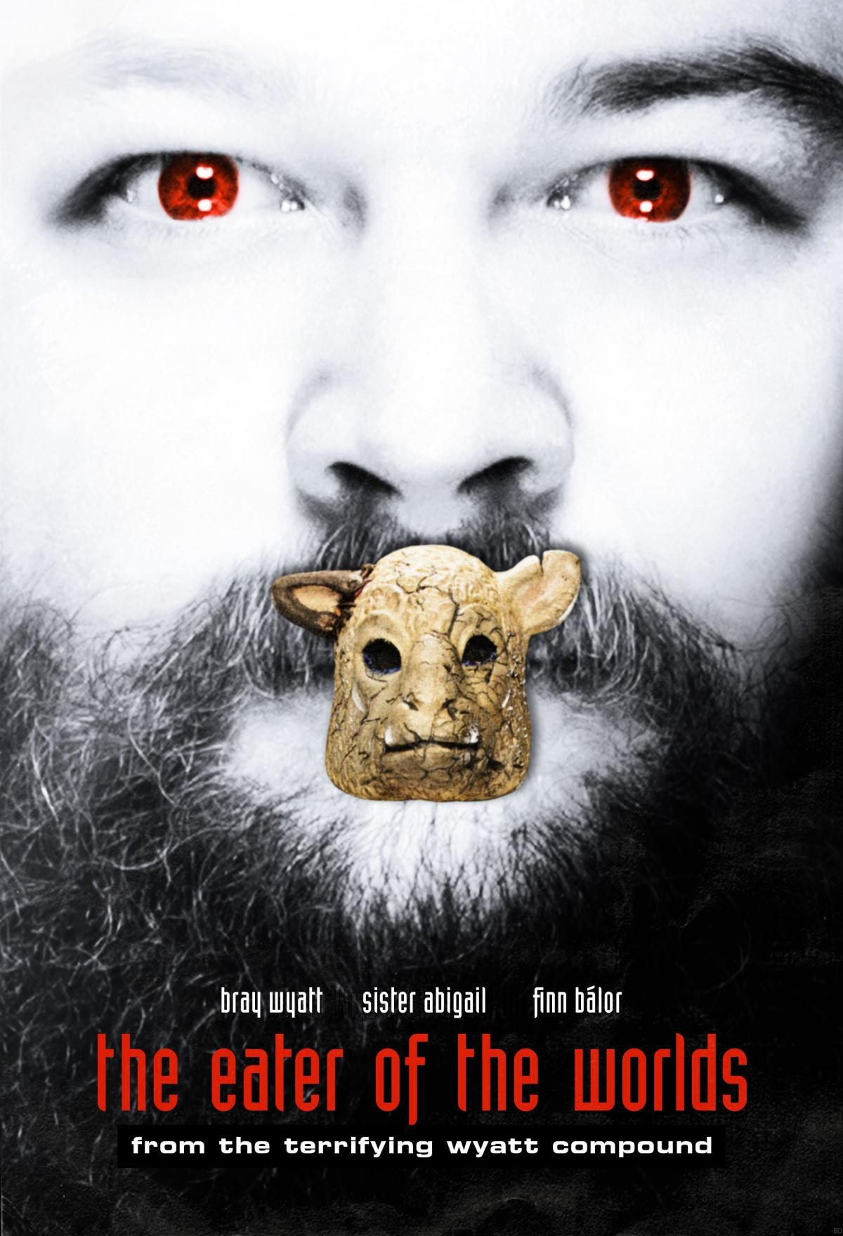 Iconic Horror Movie Posters Get a WWE Makeover! - Bloody ...
