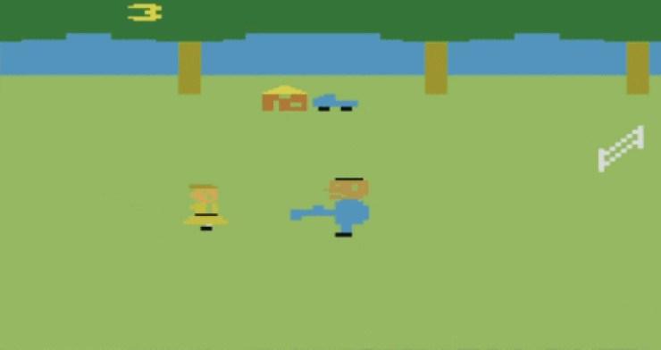 Texas Chainsaw Massacre for Atari
