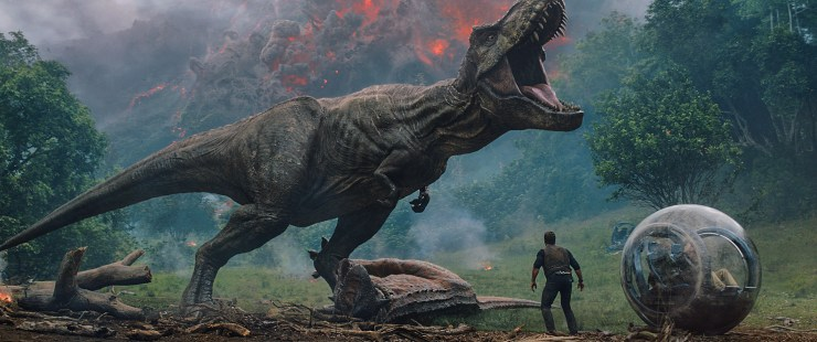 Jurassic World: Fallen Kingdom via Universal Pictures