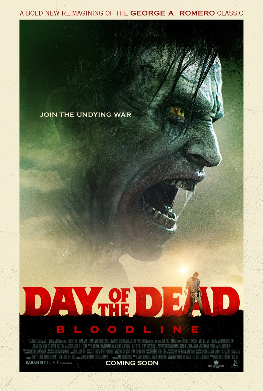 Day of the Dead poster exclusive