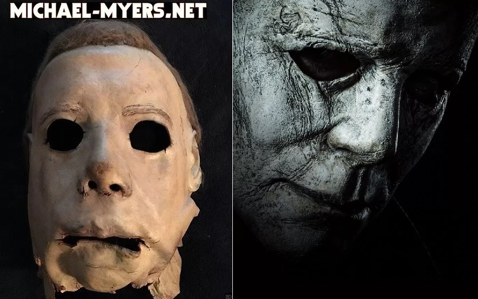 Halloween Hockey Masker.Here S The New Michael Myers Mask Side By Side With The 1978