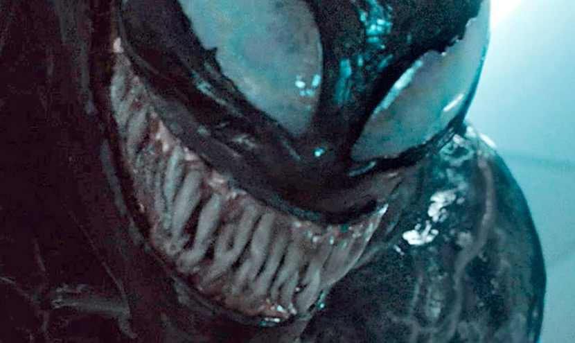skincrawling new look at venom is a comic book fans