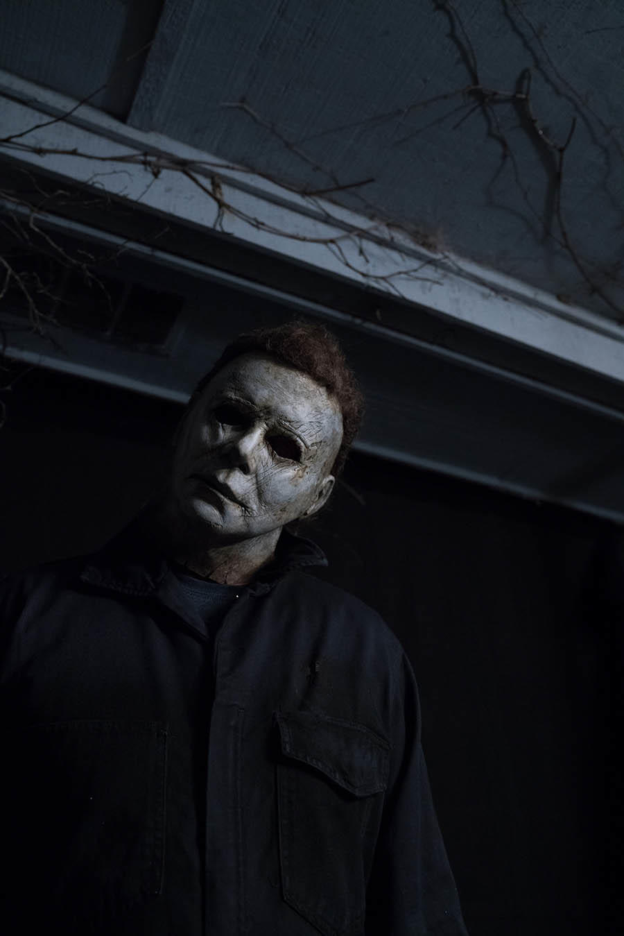 michael myers brings back the iconic head tilt in newest 'halloween