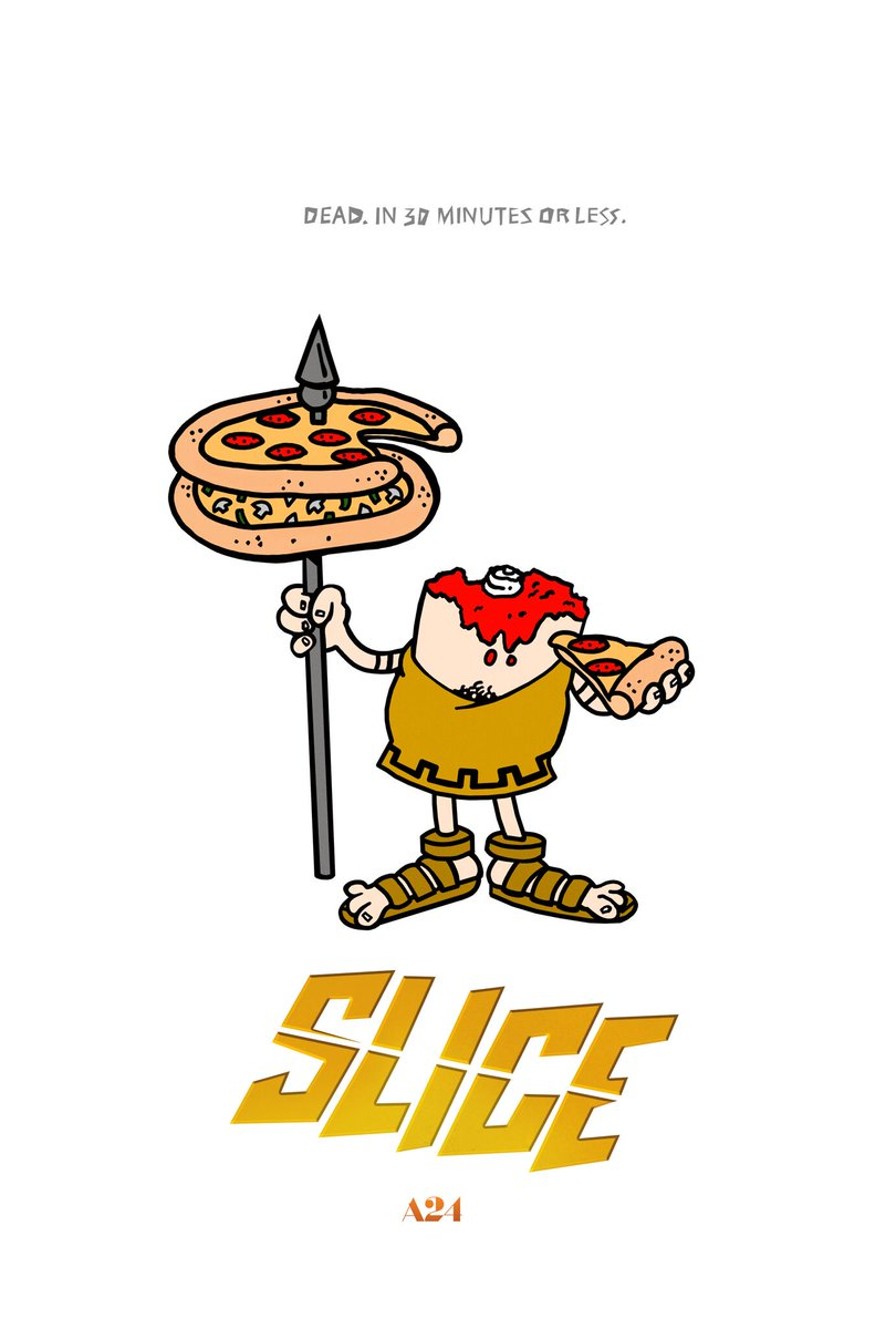Slice\' Poster Takes a Stab at Little Caesars Pizza - Bloody Disgusting