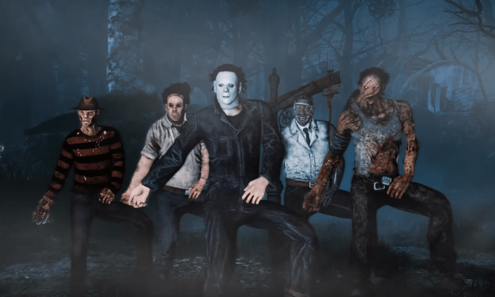 Horror Icons The Thriller Dance Fan Hilarious Dead Daylight Video Bloody Disgusting