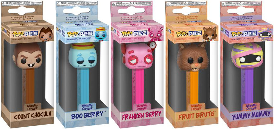 FUNKO POP EXCLUSIVE FRANKEN BERRY PEZ CEREAL CANDY DISPENSER NEW Limited Edition