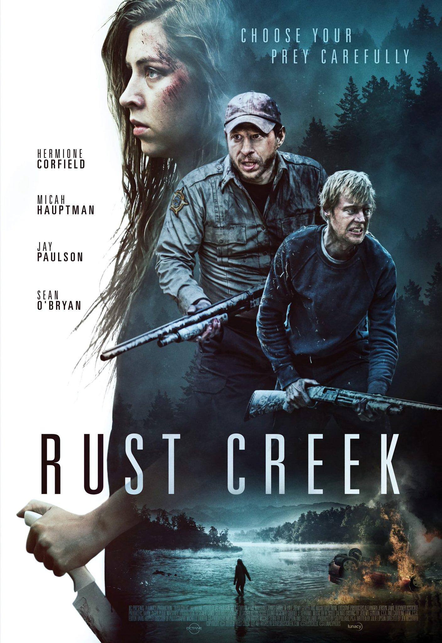 Trailer] Jen McGowan's Survival Horror Film 'Rust Creek