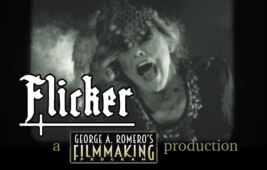 """Watch The Entire """"Flicker"""" Web Series from George Romero's Filmmaking Program and Tom Savini's Special Effects Program! - Bloody Disgusting"""