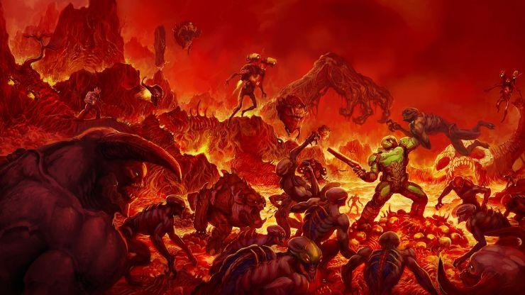 best ps4 horror games doom