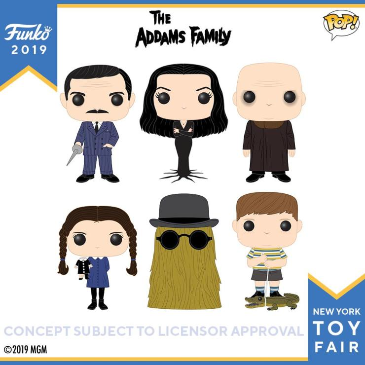 Toy Fair Funko Has Finally Made A Wave Of Quot The Addams