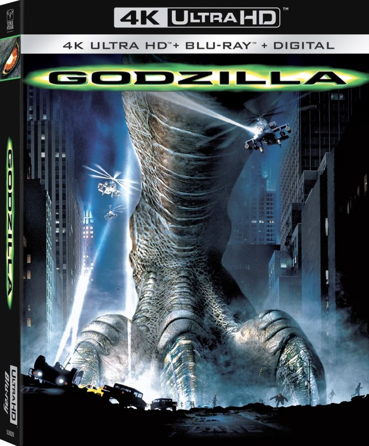 'Godzilla' 1998 Just Stomped Onto 4K Ultra HD, So Tell Us