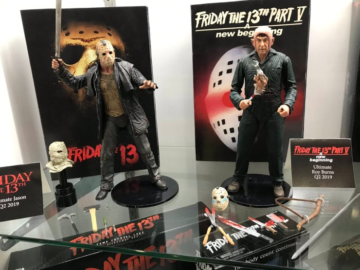 Toy Fair Neca S Ultimate Roy Burns Figure From A New