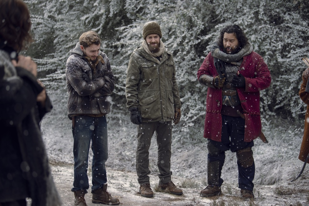 Images Winter Comes To The Walking Dead In This Sunday
