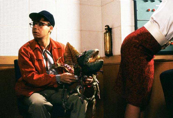 It Came From the '80s] Feeding Audrey II in 'Little Shop of Horrors