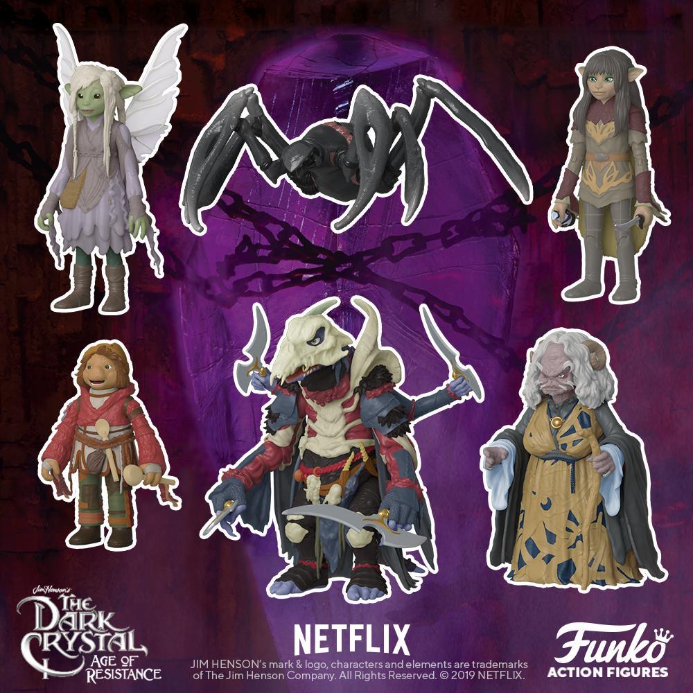 Hunter Skeksis Action Figure Dark Crystal Age of Resistance