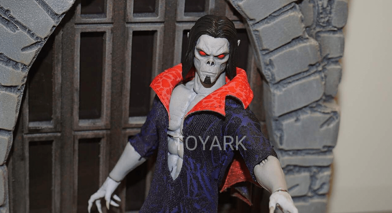 Mezco Shows Off Upcoming 'Morbius' and 'Ghost Rider' Action Figures at #SDCC! - Bloody Disgusting