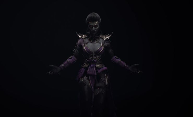 Ed Boon Reveals a New Look Sindel For 'Mortal Kombat 11