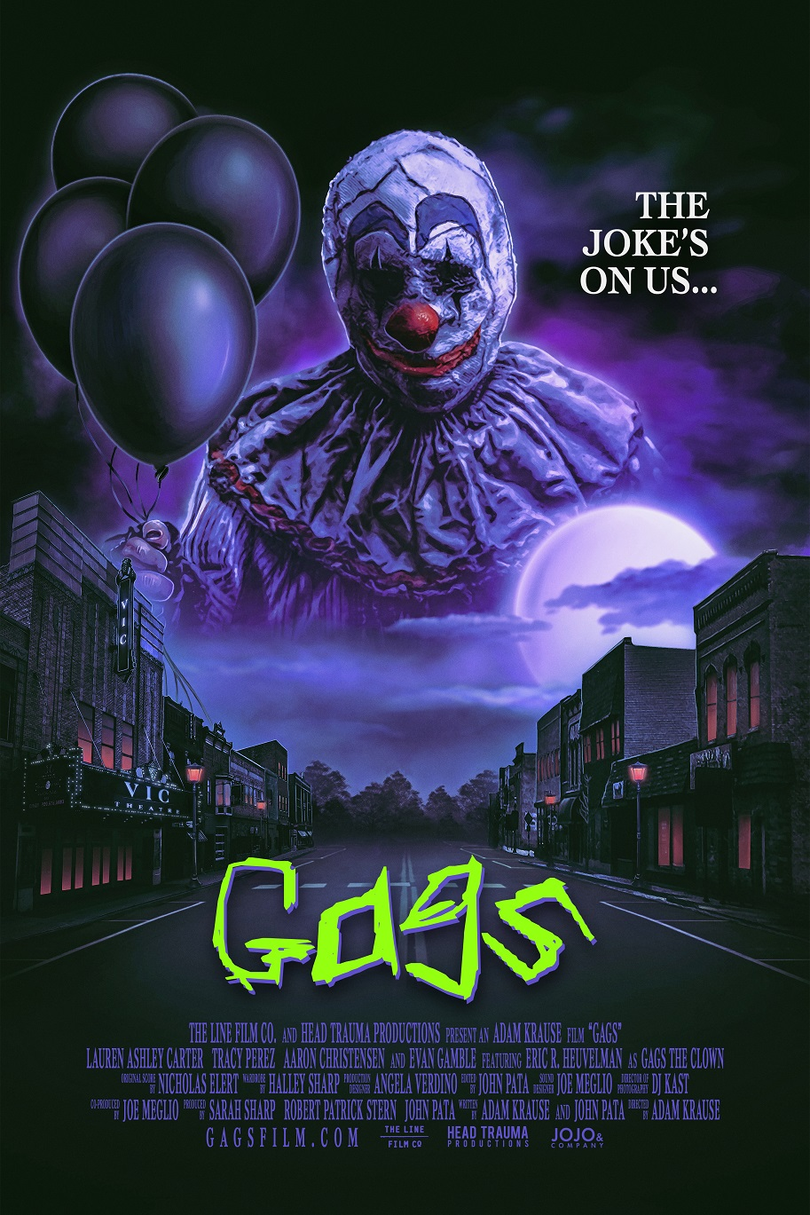 Angela Nicholas Movies rent 'gags the clown' for only 99 cents on itunes! - bloody
