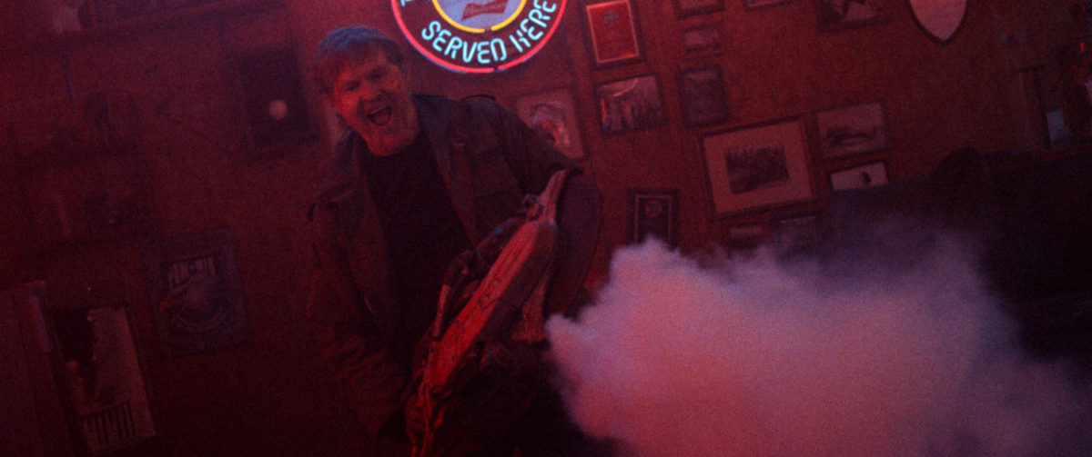 """William Sadler Defends the 'VFW' with a Circular Saw; Meet the """"Good Guys""""! [Exclusive] - Bloody Disgusting"""
