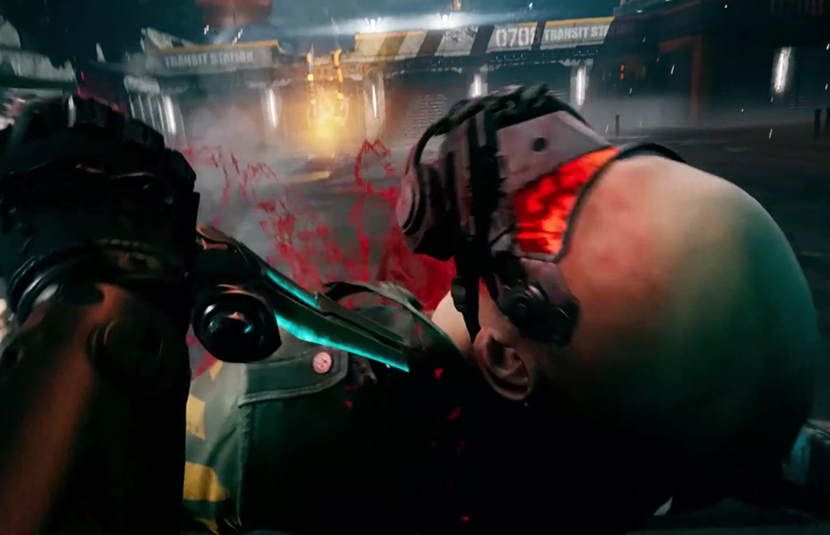 [Gamescom 2019] 'Ghostrunner' Gameplay Footage is Fast-Paced Cyberpunk Action - Bloody Disgusting