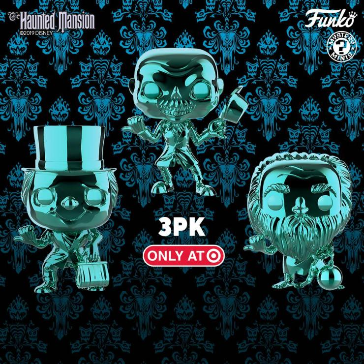 Funko Celebrating 50 Years Of The Haunted Mansion With