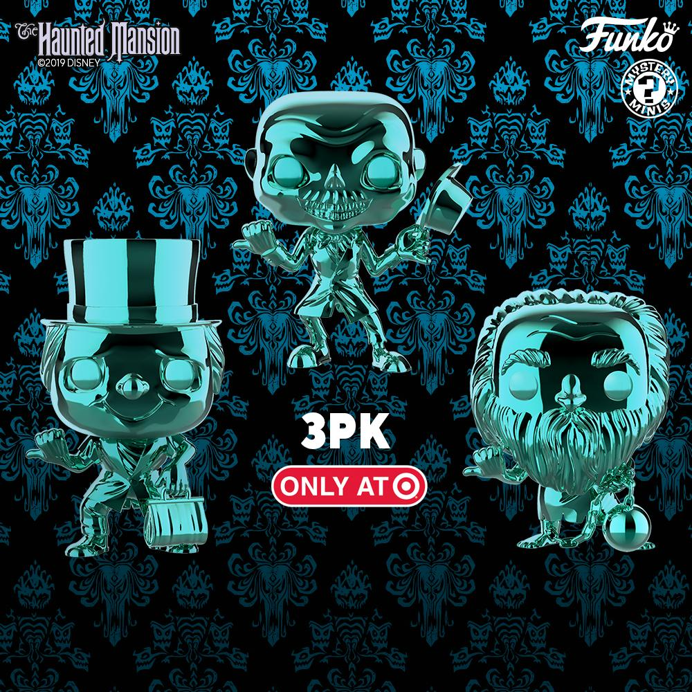 Funko Celebrating 50 Years of 'The Haunted Mansion' With New