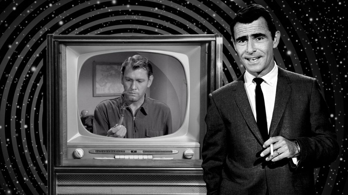 Twilight Zone Im In The Twilight Zone Adult Work Shirt