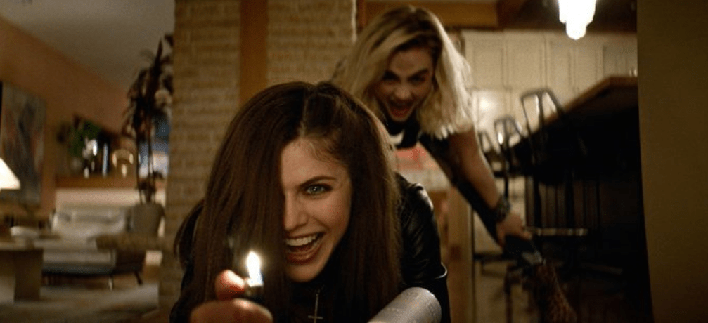 Watch Alexandra Daddario Torment Two Dudes in 'We Summon the Darkness' [Video] - Bloody Disgusting