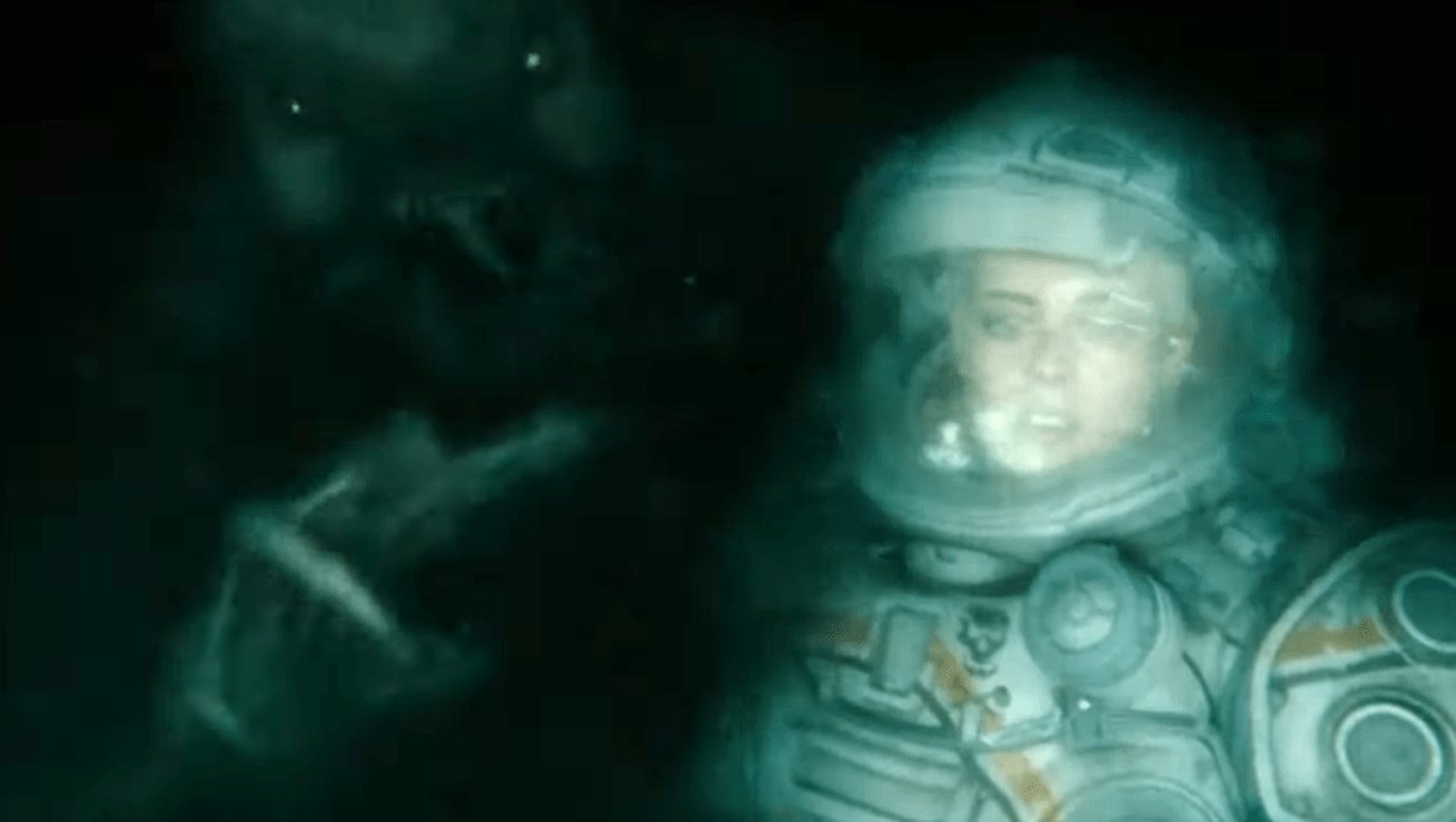 Poster for Kristen Stewart-Starring Horror Film 'Underwater' Heads into the Belly of the Beast - Bloody Disgusting