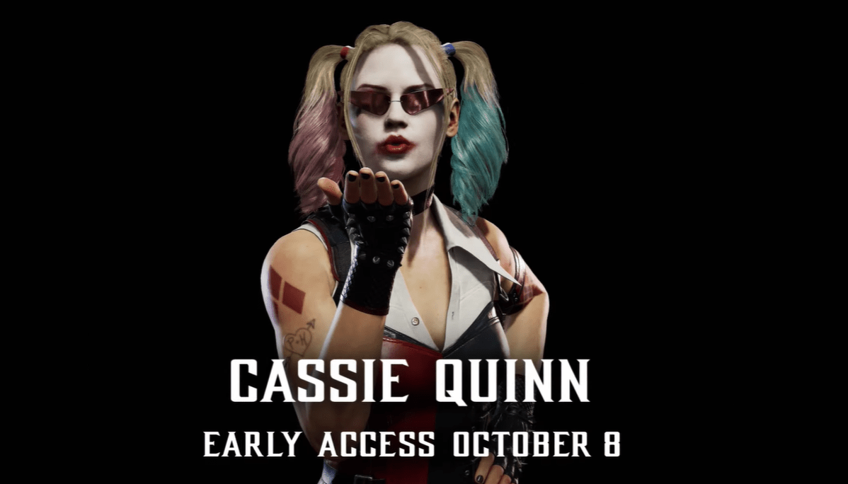 Cassie Cage Goes Harley Quinn in New 'Mortal Kombat 11' Costume - Bloody Disgusting