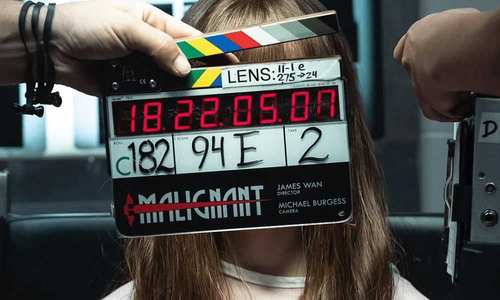 Image] James Wan Shares First Behind the Scenes Tease of His New Horror  Movie 'Malignant' - Bloody Disgusting