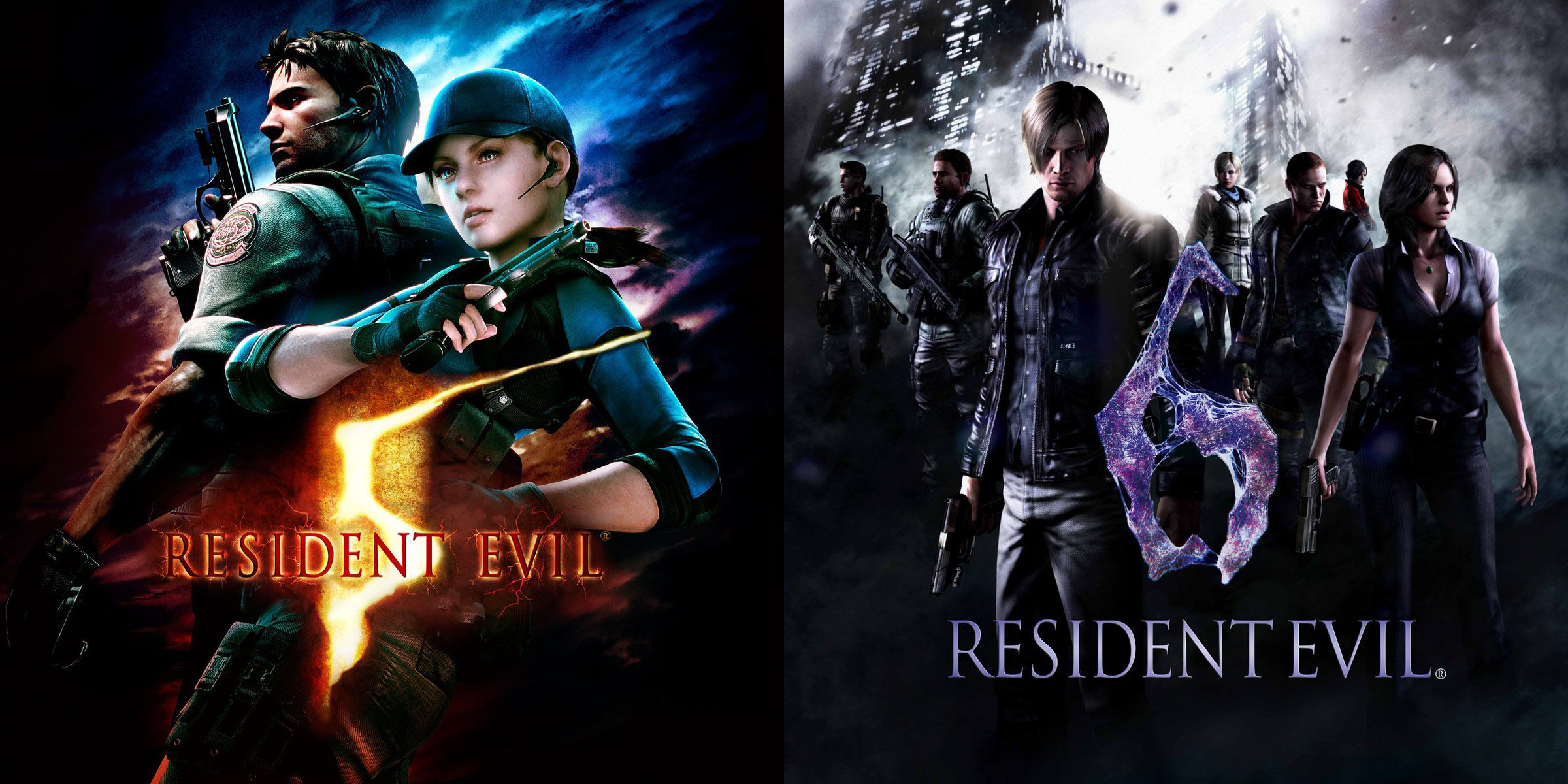 Review Resident Evil 5 And 6 On Nintendo Switch The Series Black Sheep Get White Hot Ports Bloody Disgusting