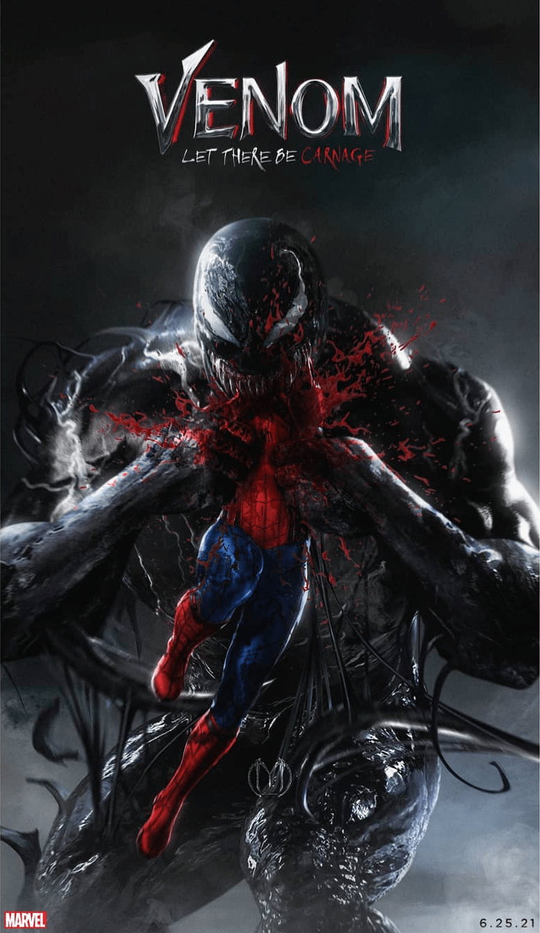 Venom Devours Spider-Man on This Gruesome Fan-Made Poster for 'Venom: Let  There Be Carnage' - Bloody Disgusting