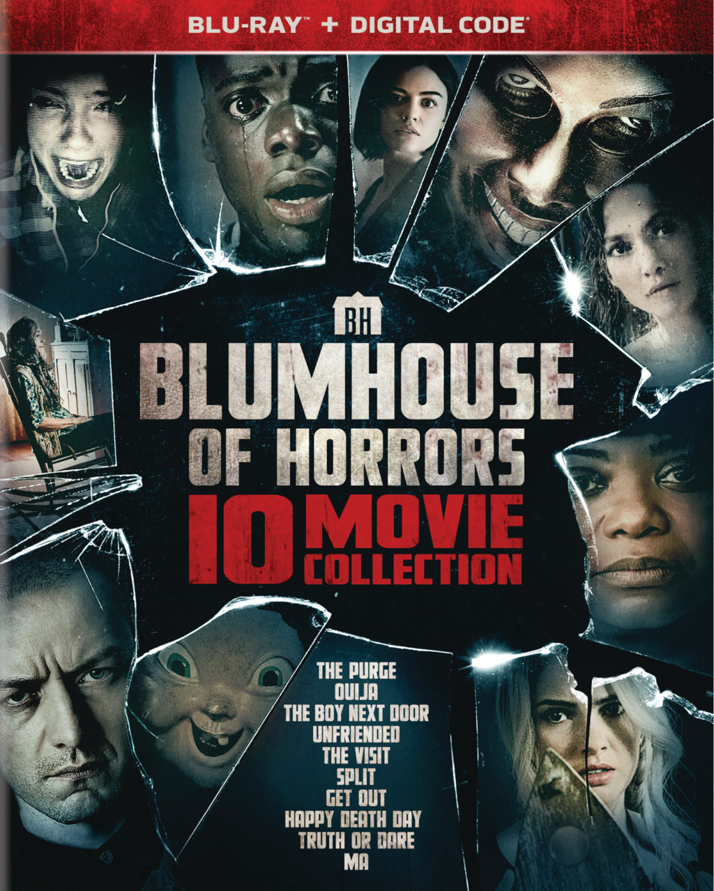 """""""Blumhouse Of Horrors"""" 10-Movie Blu-ray Collection"""