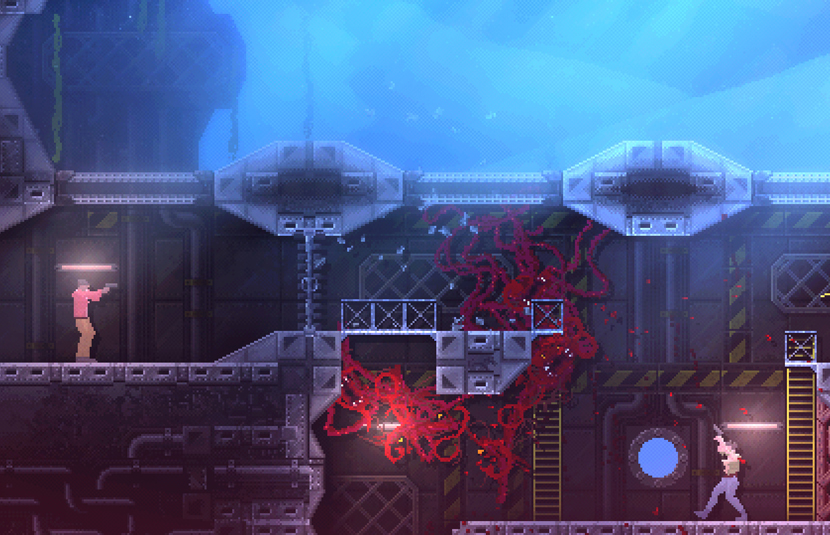 Carrion Launches For Pc And Consoles July 23rd Video Bloody
