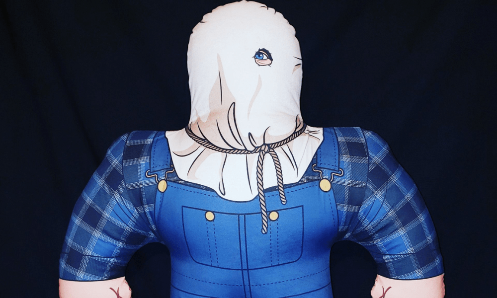 """Horror Decor's Latest """"Horror Buddy"""" Brings """"Baghead"""" into the Wrestling Buddies-Inspired Line"""