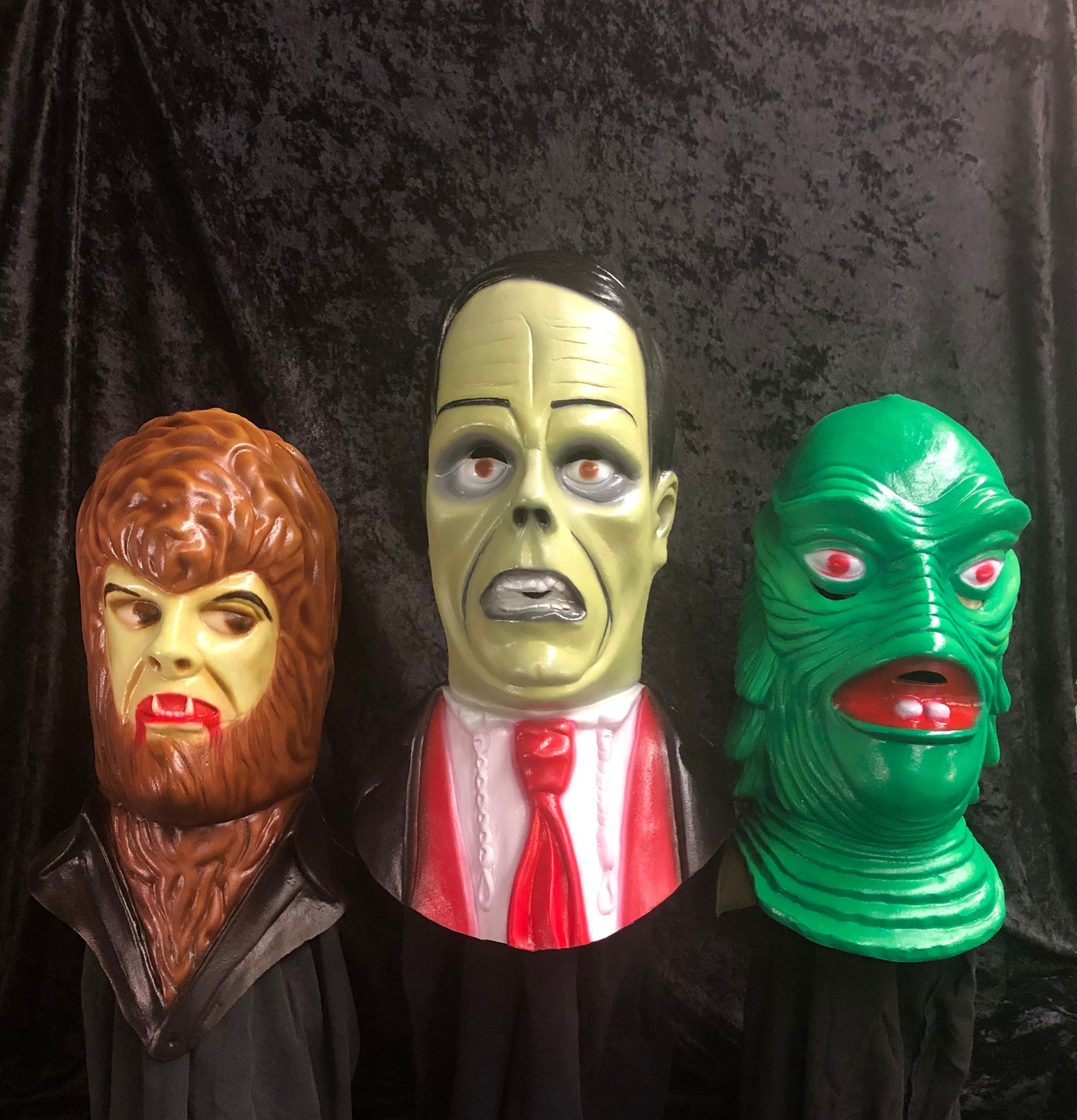 Neca Celebrates Halloween Early With Universal Monsters Masks Inspired By Classic Toys Bloody Disgusting