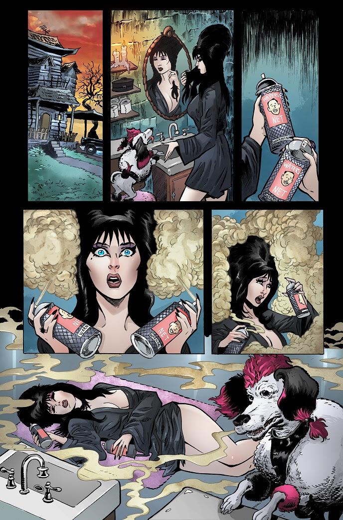 Elvira cómic