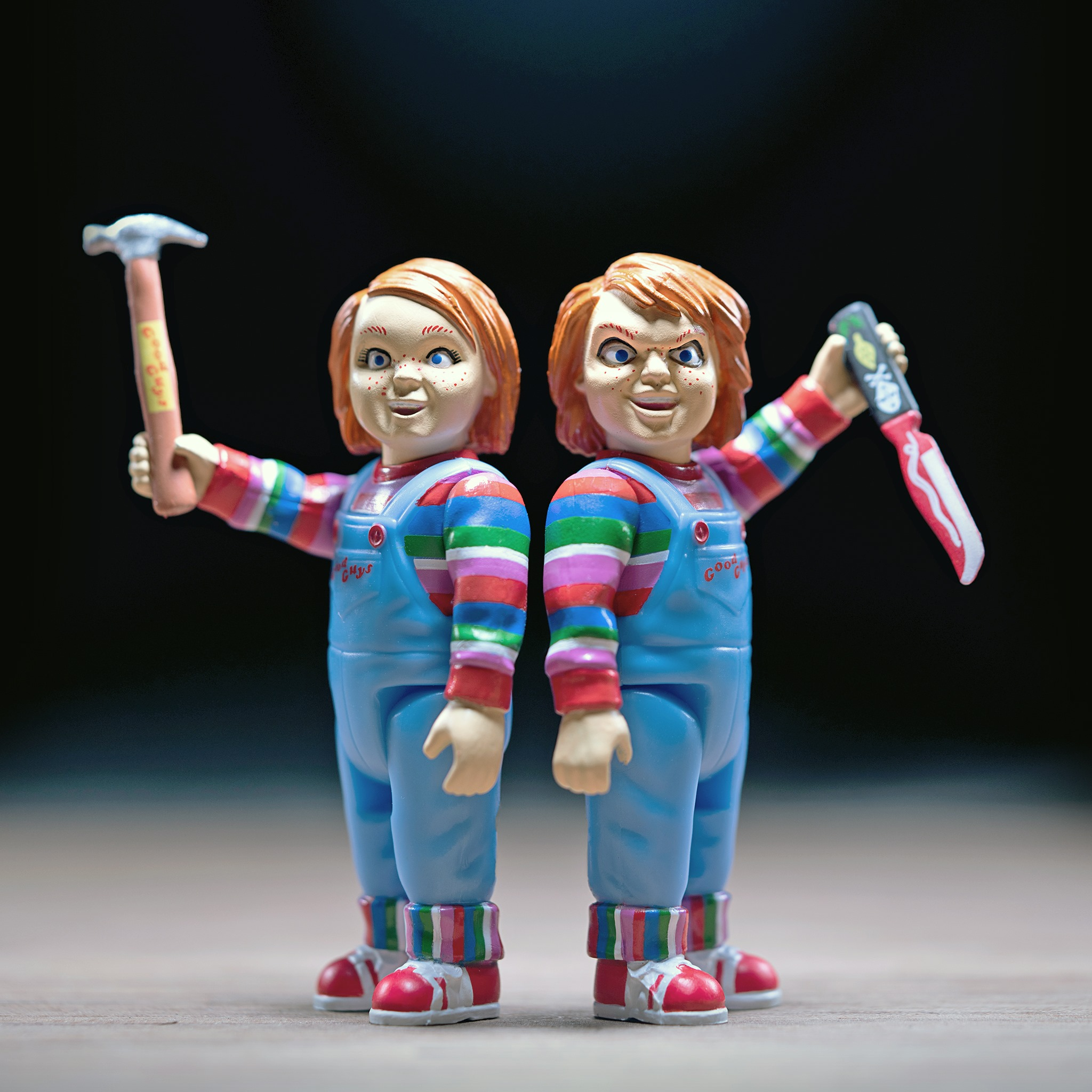 """New Laurie Strode, Michael Myers and Chucky """"ReAction Figures"""" Available Now from Super7"""