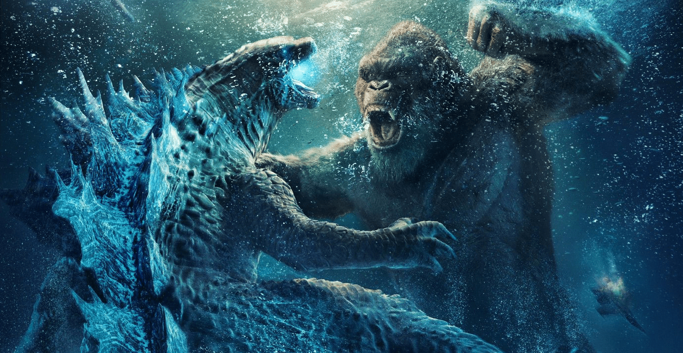 Epic New Godzilla Vs Kong Poster Highlights An Underwater Battle We Can T Wait To See Bloody Disgusting