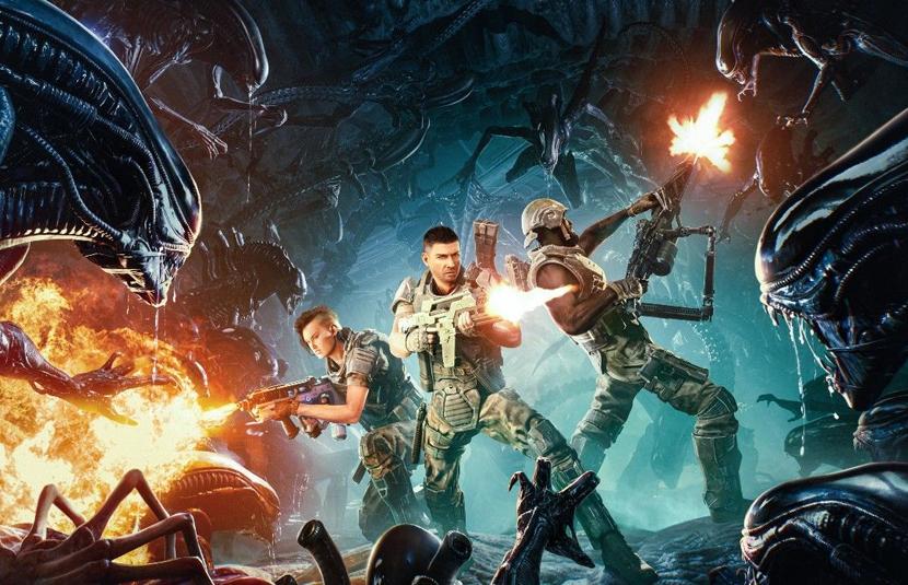 New 'Aliens: Fireteam' Gameplay Video is 25 Minutes of Frenetic Bug-Hunting - Bloody Disgusting