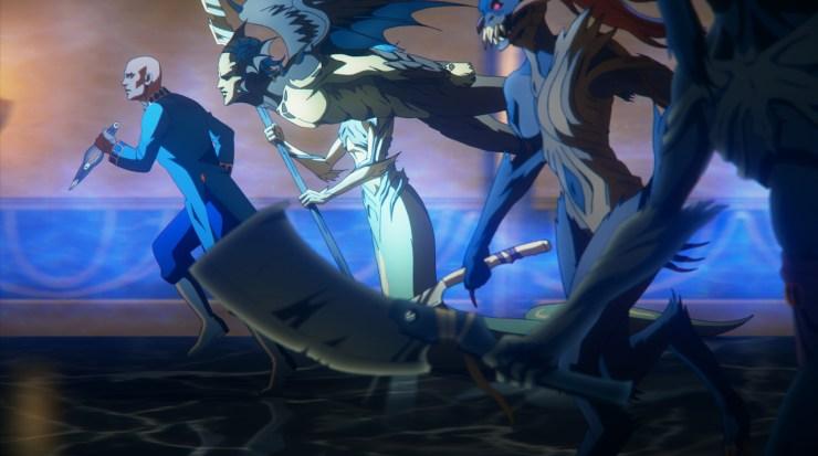Castlevania Season 4 Monster Attack Force