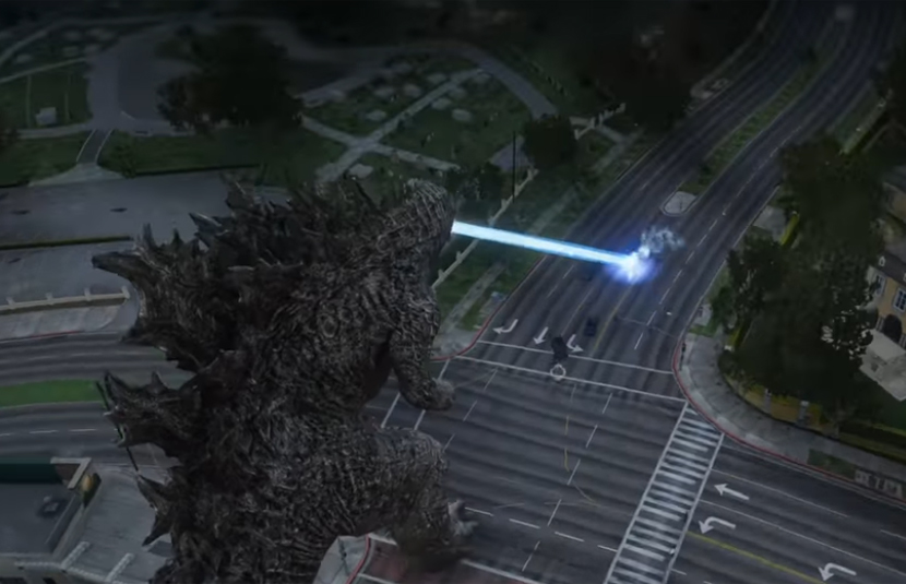 Crush All in Your Path With This Godzilla Mod For 'Grand Theft Auto V'