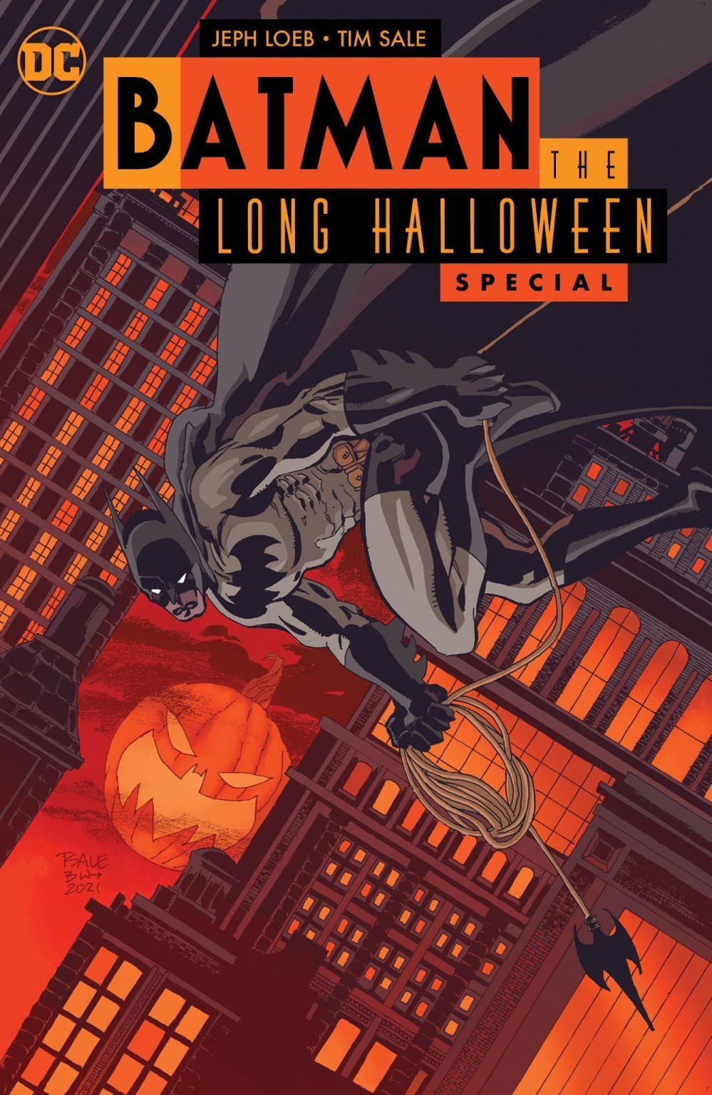 Batman: The Long Halloween Special Main Cover by Tim Sale
