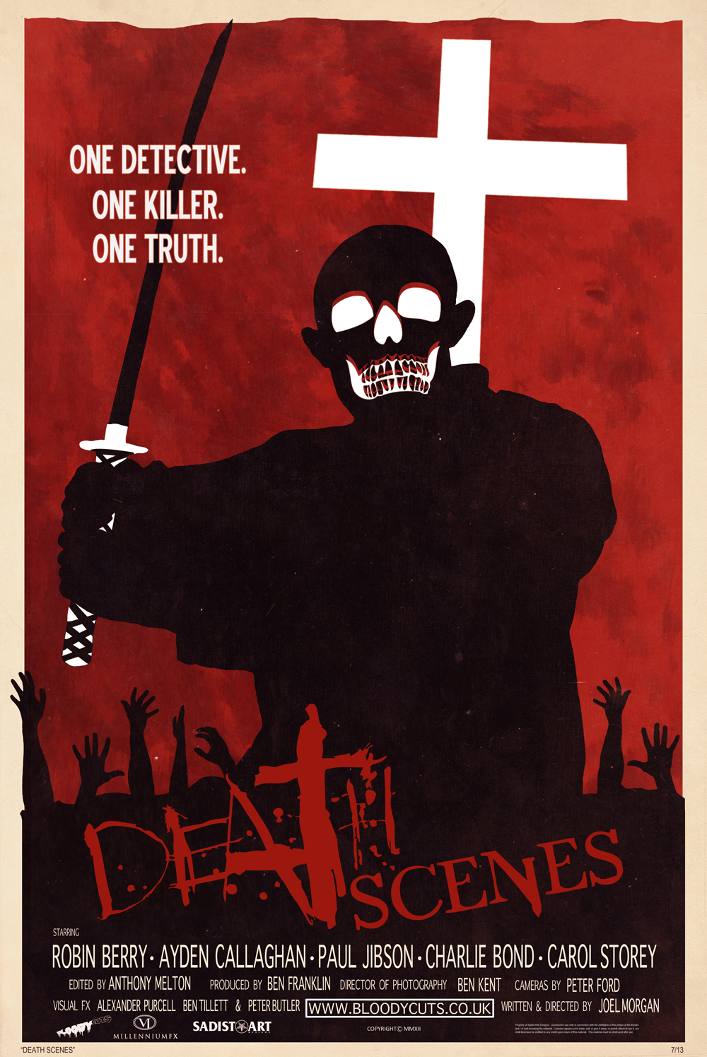 Death Scenes - Poster by Marc Schoenbach