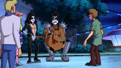 Kiss Meets Scooby Doo!