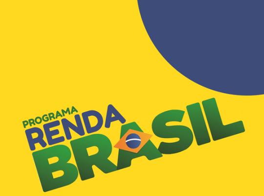 logotipo do programa Renda Brasil. brandeira do brasil