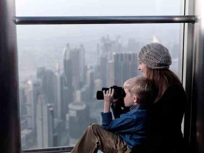 family observation deck burj khalifa Zeina Dagher