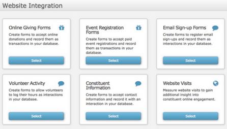 Website Integration - Online Giving, Event Registration & More
